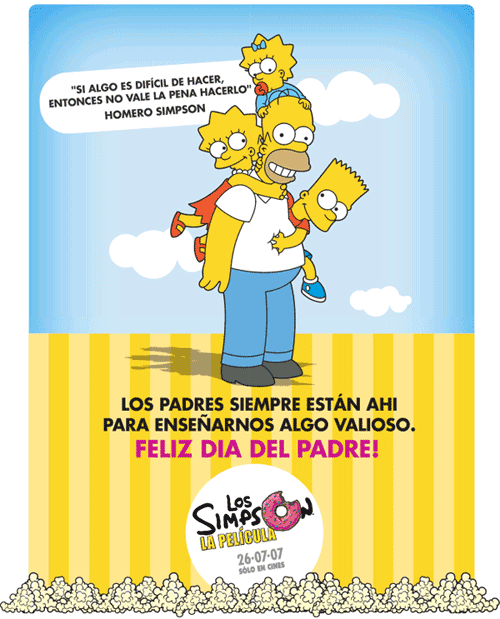 [TheSimpsons] Día del Padre