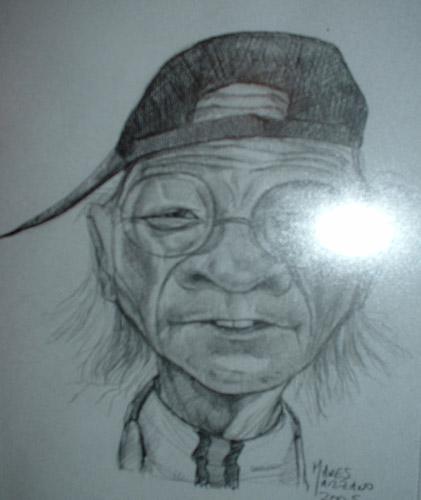 Guillermo Coria de viejo