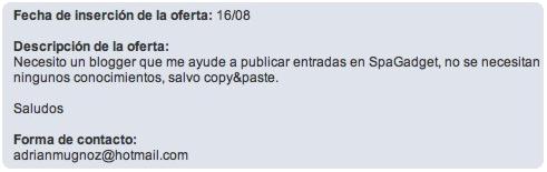 Blogger Copy & Paste