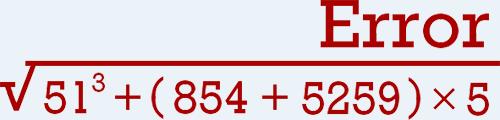 Error 404 Personalizado Matemático