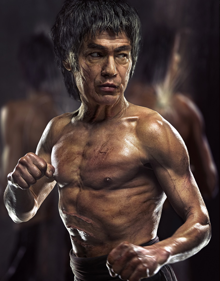 Bruce Lee de Viejo