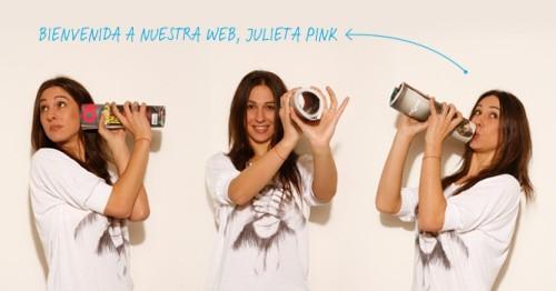 Julieta Pink en Oh La La