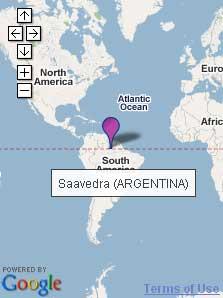 Saavedra (Argentina), en Brasil