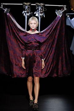 El modelo que viste Linda Evangelista